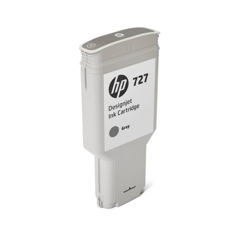 Cartucho HP Nº 727 Gris (300ml)