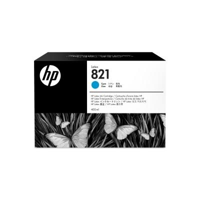 Cartucho HP Nº 821 Cyan 400 ml