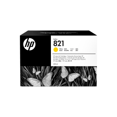 Cartucho HP Nº 821 Amarillo 400 ml