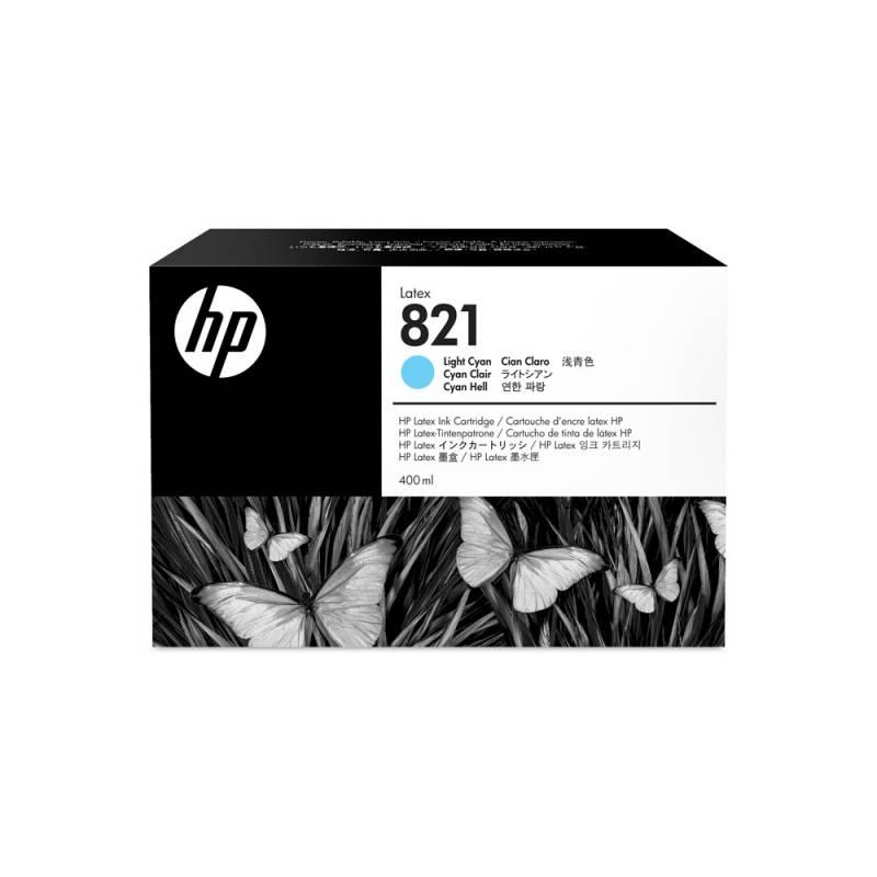 Cartucho HP Nº 821 Cyan Claro 400 ml