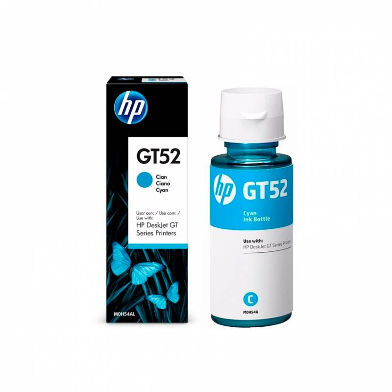 Botella de Tinta HP GT52 Cyan (70ml)
