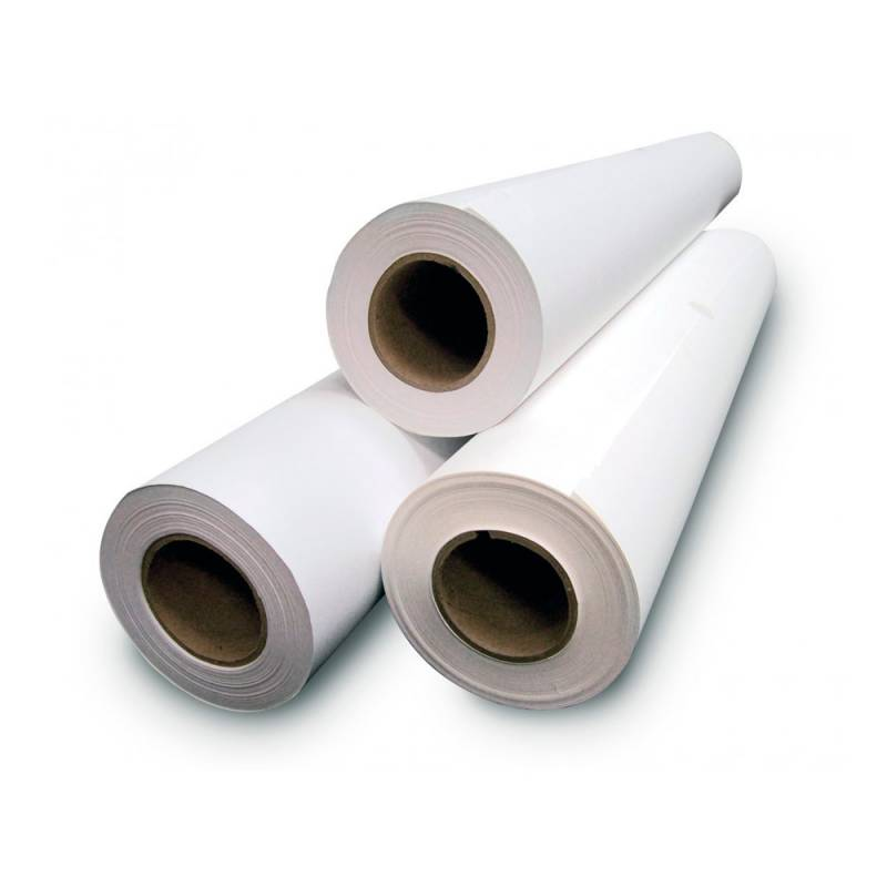 Rollo Papel Bond blanco 80g 24