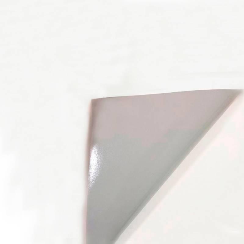 Rollo Vinilo Autoadhesivo Brillante 80 mic BASE GRIS 1,07mt x 50mts