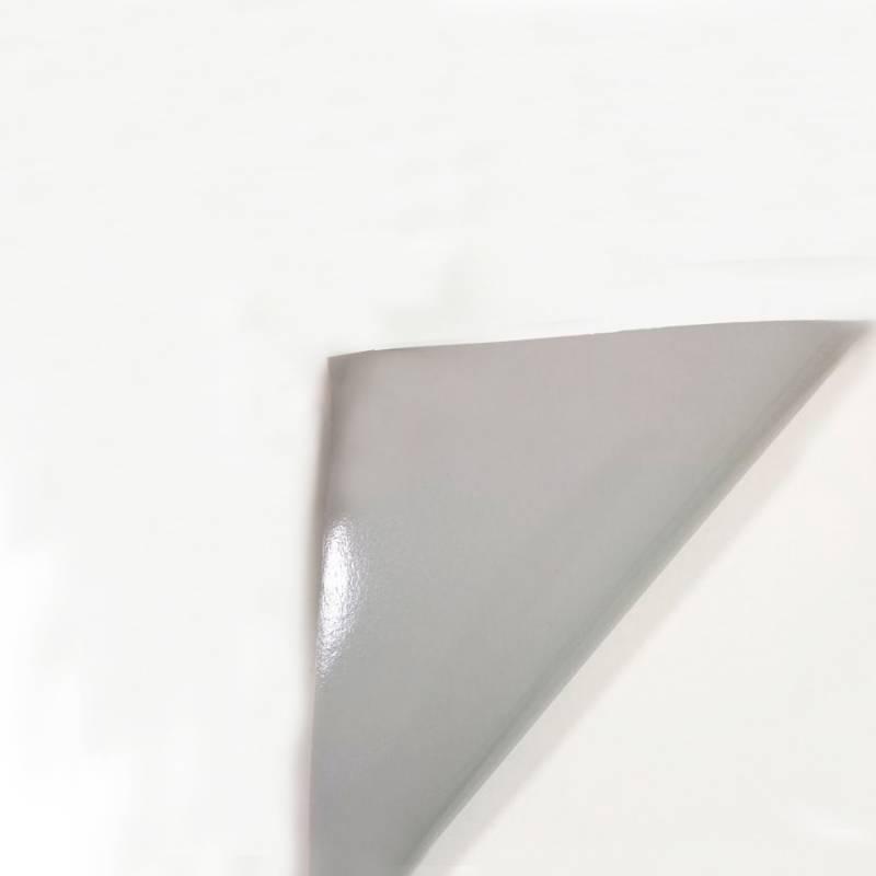 Rollo Vinilo Autoadhesivo Brillante 80 mic BASE GRIS 1,27mt x 50mts