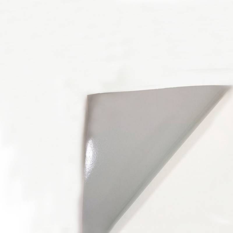 Rollo Vinilo Autoadhesivo Brillante 100 mic BASE GRIS 1,27mt x 50mts